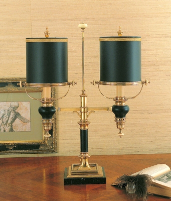 Double Arm Student Lamp Chapman Manufacturing Company Inc